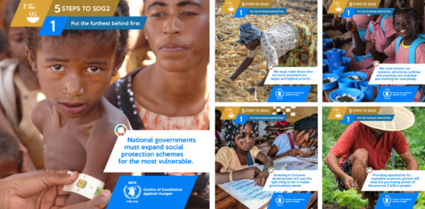 WFP - Centre of Excellence against Hunger launches campaign on social media against food waste